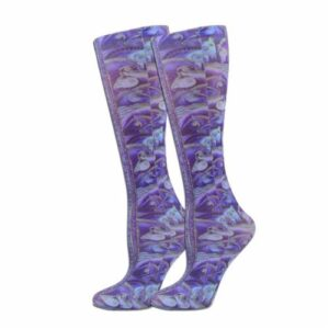 'Indigo Stallions' Knee High Boot Socks -0
