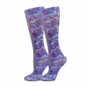 'Indigo Stallions' Knee High Boot Socks -0