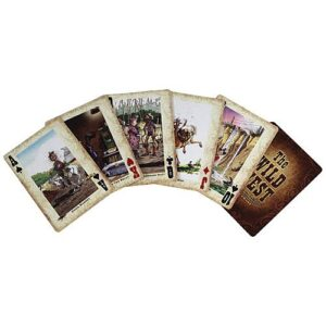 The Wild West Playing Cards --968