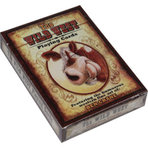 The Wild West Playing Cards --0