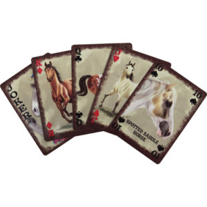 Horse Breeds of the World Playing Cards-967