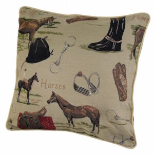 Horse Tapestry Cushion Cover-666