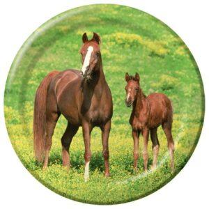 Wild Horses Dinner Plates-0