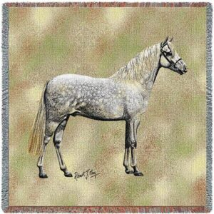 'Welsh Pony' Woven Throw-0