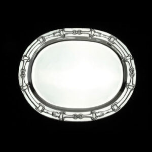Equestrian Oval Platter -0