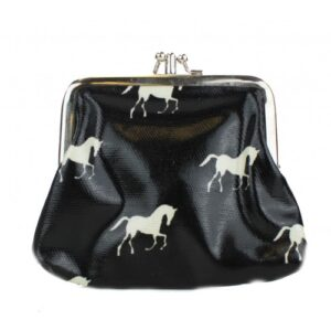 Horse Coin Purse - Black-0