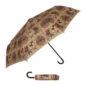 'Hunt' Hook Handle Folding umbrella-0