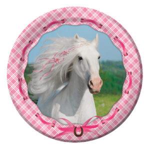 "Heart My Horse 7"" Plates-0"