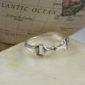 Sterling Silver Horse Bit Ring-0