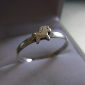 Petite Pony Sterling Silver Ring -2738