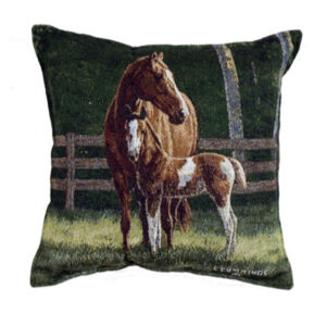 'Josie' Tapestry Filled Cushion-0