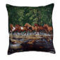 'Spring Creek Run' Tapestry Filled Cushion-0