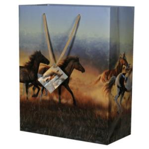 Running Horses Gift Bag-0