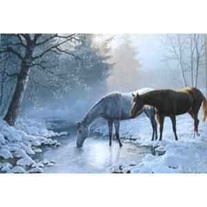 Happy Horseydays Xmas Card - D-0