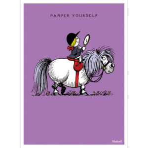 Thelwell Birthday Card - Pampered-0