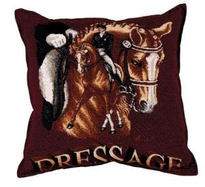 Dressage - Tapestry Cushion-0