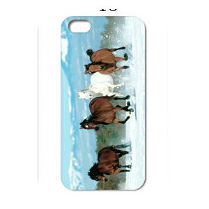 iPhone 6 Plus Case - Snow Horses-0