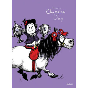 Thelwell Birthday Card - The Champion-0