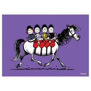 Thelwell Birthday Card - All of Us-0