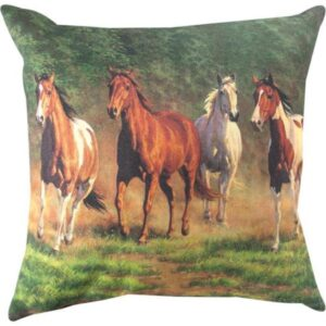 'Evening Gold' Filled Cushion-0
