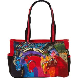 'Wild Horses of Fire' Medium Bag by Laurel Burch-3389