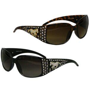 Horse Rhinestone Sunglasses-0