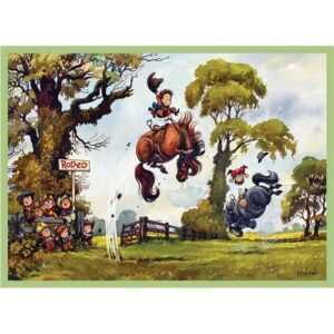 Thelwell Blank Card - Rodeo-0