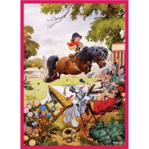 Thelwell Blank Card - Up For The Cup-0
