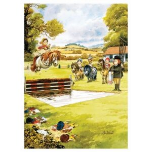 Thelwell Blank Card - Waterjump-0