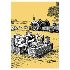 Thelwell Blank Card - Time for Tea-0