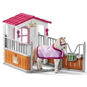 Schleich - Horse Stall with Lusitano Mare -0