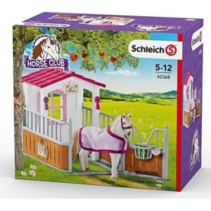Schleich - Horse Stall with Lusitano Mare -4317