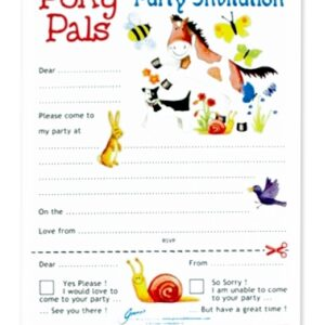 Pony Pals Party Invites-0