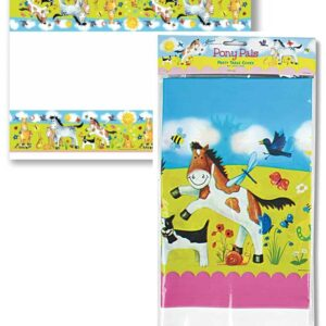 Pony Pals Party Table Cloth-0