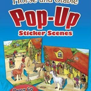 Horse & Stable Pop Up Sticker Book-0