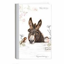 Pollyanna Pickering Donkey A6 Notebook-0