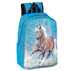 Galloping Palomino Backpack-4647