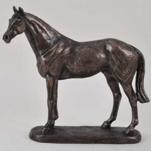 'Ascot Andy' Cold Cast Bronze designed by Harriet Glen (15.3cm)-0