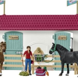 Schleich - Playhouse and Horse Stables-5105