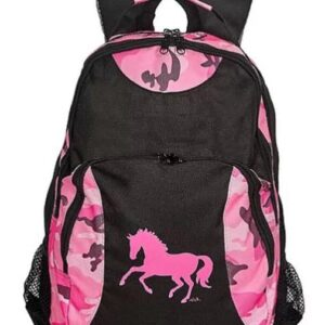 Pink Horse Camo Backpack-5218