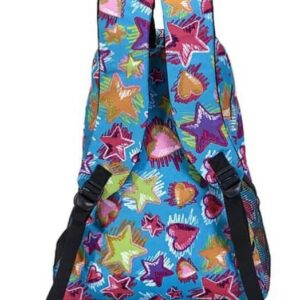 Stars and Hearts Horse Backpack-5223