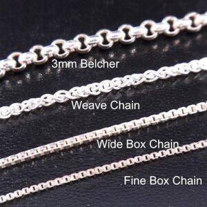 Sterling Silver Half Bit Pendant w/chain-5308
