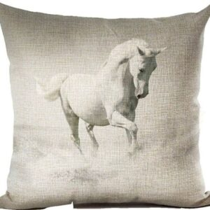 Water Play Horse Cushion Cover-0