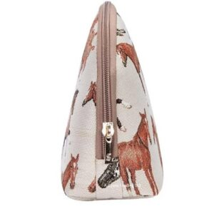 Run Free Tapestry Makeup Accessory Bag - Large-5398