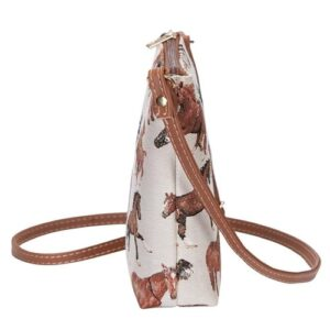 Run Free Horse Tapestry Cross Body Bag - Small-5410