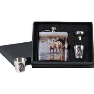 Hip Flask Gift Set-0