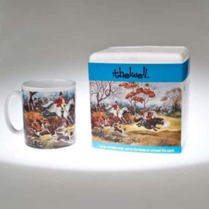 Thelwell Mug - In Full Cry-0