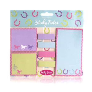 Playful Ponies Sticky Notes Pack-0
