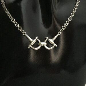 Sterling Silver Full D Bit Necklace-0